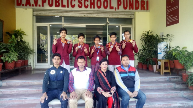 Won Gold Medal in National Sports Championship held at Ranchi (Jharkhand)